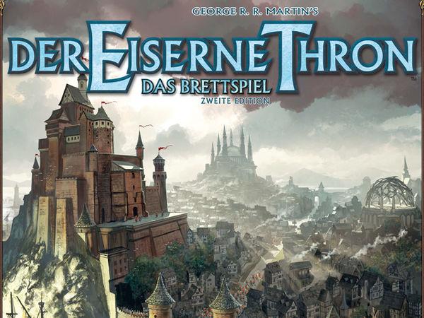 Bild zu Alle Brettspiele-Spiel Der Eiserne Thron: Das Brettspiel - Zweite Edition