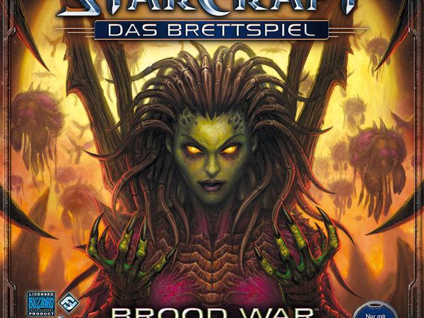 Bild zu Alle Brettspiele-Spiel Starcraft: Das Brettspiel - Brood War