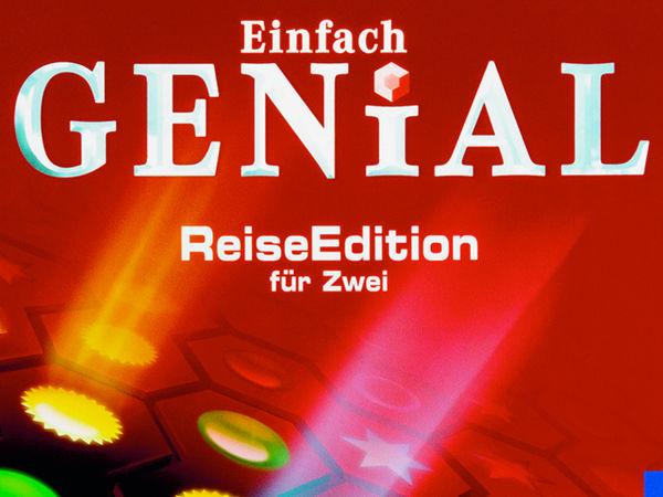 Bild zu Alle Brettspiele-Spiel Einfach Genial: Reise-Edition für Zwei