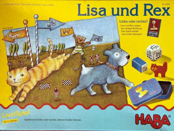 Bild zu Alle Brettspiele-Spiel Lisa und Rex