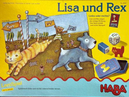 Lisa und Rex