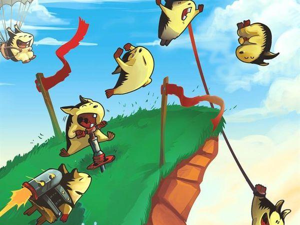 Bild zu Alle Brettspiele-Spiel Lemminge