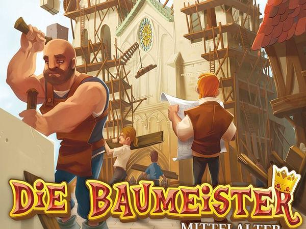 Bild zu Alle Brettspiele-Spiel Die Baumeister: Mittelalter