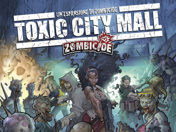 Bild zu Alle Brettspiele-Spiel Zombicide: Toxic City Mall