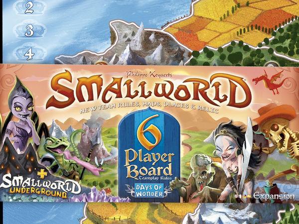 Bild zu Alle Brettspiele-Spiel Small World: 6 Spieler Erweiterung