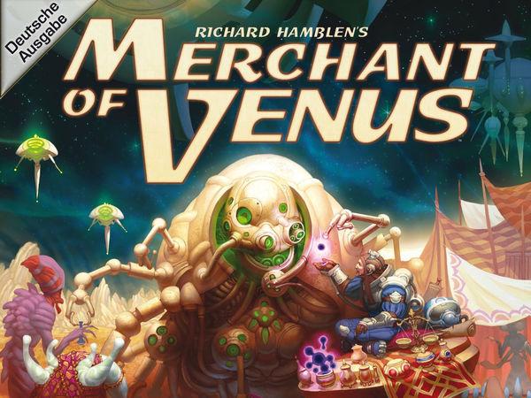Bild zu Alle Brettspiele-Spiel Merchant of Venus: Zweite Edition