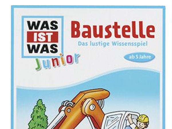 Bild zu Alle Brettspiele-Spiel Was ist was - Junior: Baustelle