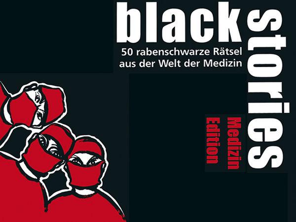 Bild zu Alle Brettspiele-Spiel Black Stories: Medizin Edition