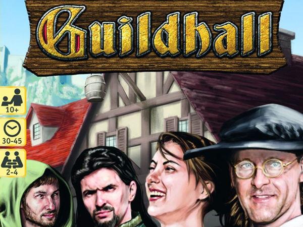 Bild zu Alle Brettspiele-Spiel Guildhall: Neue Ränkespiele