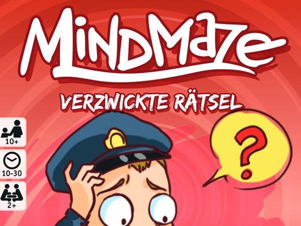 Bild zu Alle Brettspiele-Spiel MindMaze: Kriminalfälle