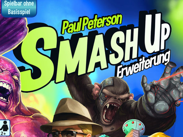 Bild zu Alle Brettspiele-Spiel Smash Up: Science Fiction Double Feature