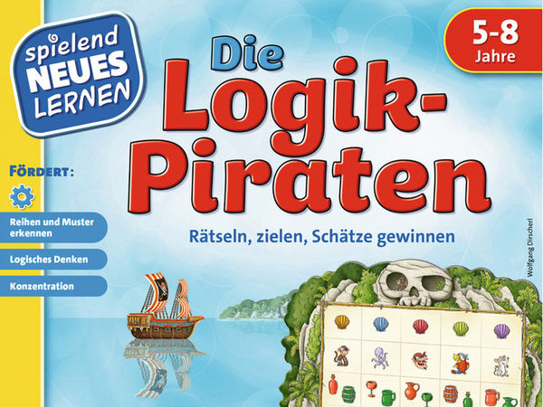 Bild zu Alle Brettspiele-Spiel Die Logikpiraten