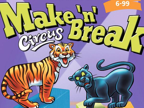 Bild zu Alle Brettspiele-Spiel Make 'n' Break Circus
