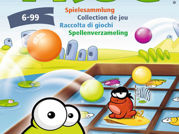 Bild zu Alle Brettspiele-Spiel Tap the Frog: Mitbringspiel