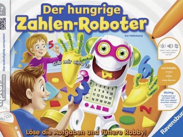 Bild zu Alle Brettspiele-Spiel Der hungrige Zahlen-Roboter
