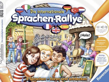 Die internationale Sprachen-Rallye