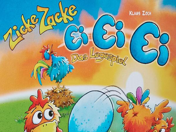 Bild zu Alle Brettspiele-Spiel Zicke Zacke Ei Ei Ei