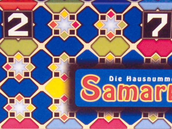 Bild zu Alle Brettspiele-Spiel Die Hausnummern von Samarkand