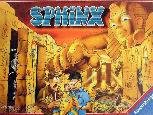 Bild zu Alle Brettspiele-Spiel Sphinx