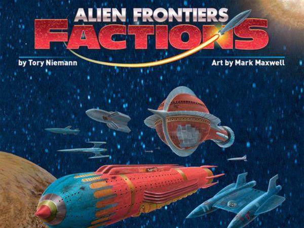 Bild zu Alle Brettspiele-Spiel Alien Frontiers: Factions