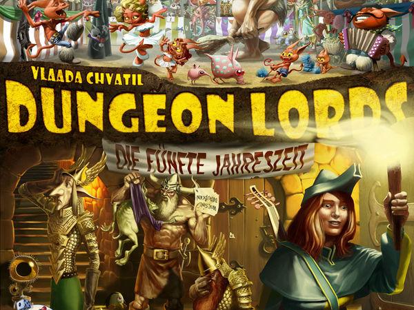 Bild zu Alle Brettspiele-Spiel Dungeon Lords: Die fünfte Jahreszeit