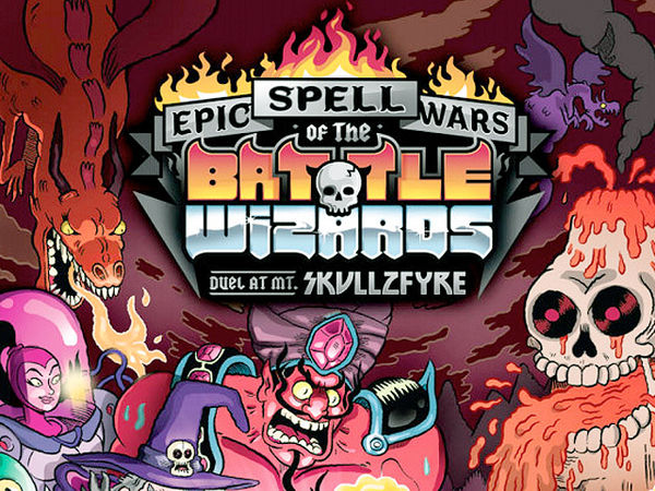 Bild zu Alle Brettspiele-Spiel Epic Spell Wars of the Battle Wizards: Duel at Mt. Skullzfyre