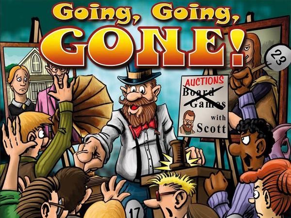 Bild zu Frühjahrs-Neuheiten-Spiel Going, Going, Gone!
