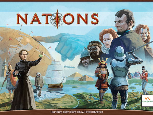 Bild zu Alle Brettspiele-Spiel Nations