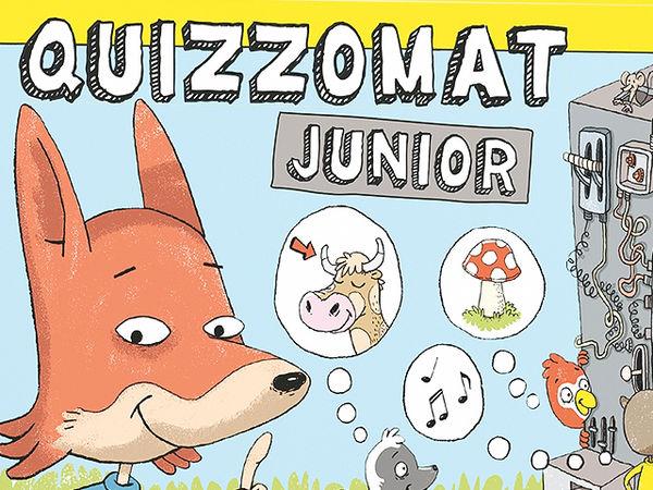 Bild zu Alle Brettspiele-Spiel Quizzomat Junior