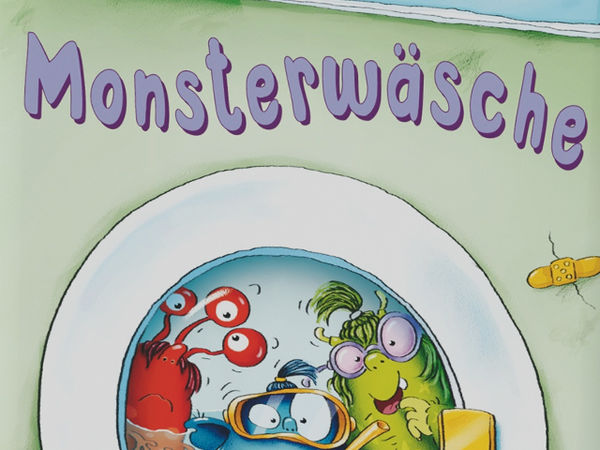 Bild zu Alle Brettspiele-Spiel Monsterwäsche