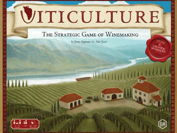 Bild zu Alle Brettspiele-Spiel Viticulture