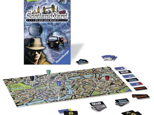 Scotland Yard: Mitbringspiel Bild 1