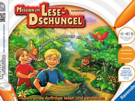 Mission im Lese-Dschungel