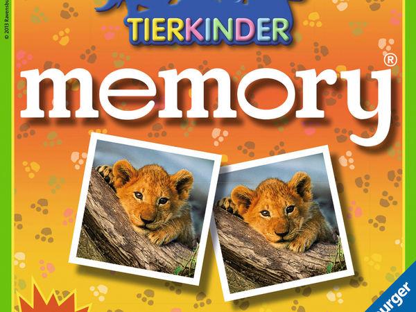 Bild zu Alle Brettspiele-Spiel Tierkinder Memory