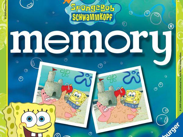 Bild zu Alle Brettspiele-Spiel SpongeBob Memory