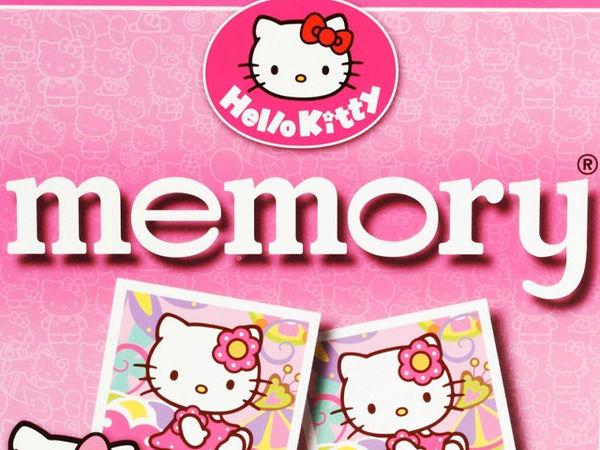 Bild zu Alle Brettspiele-Spiel Hello Kitty Memory