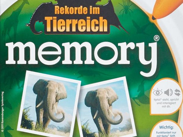 Bild zu Alle Brettspiele-Spiel Rekorde im Tierreich: Memory