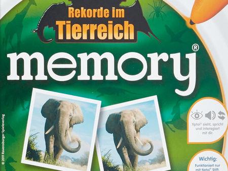 Rekorde im Tierreich: Memory