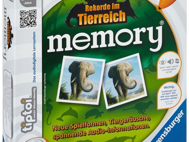 Rekorde im Tierreich: Memory Bild 1
