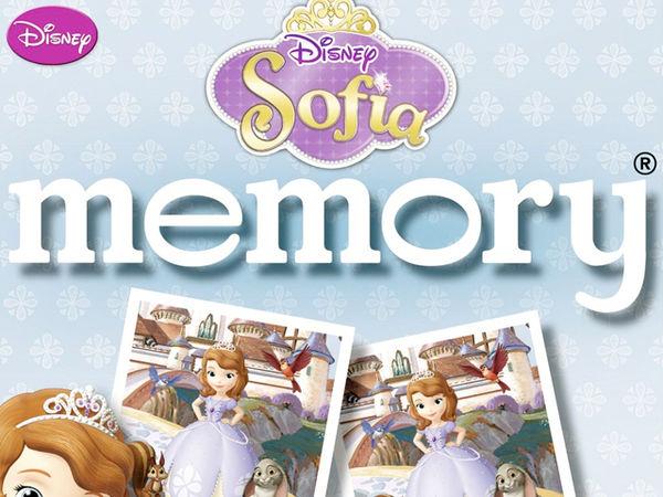Bild zu Alle Brettspiele-Spiel Disney Sofia Memory