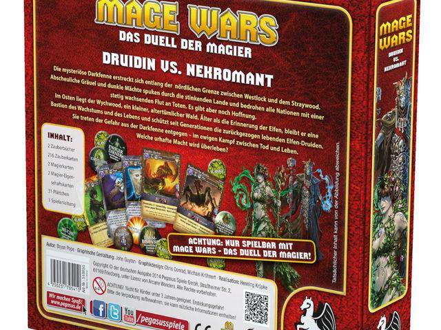 Mage Wars: Druidin vs. Nekromant Bild 1