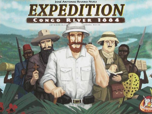 Bild zu Alle Brettspiele-Spiel Expedition Congo River 1884