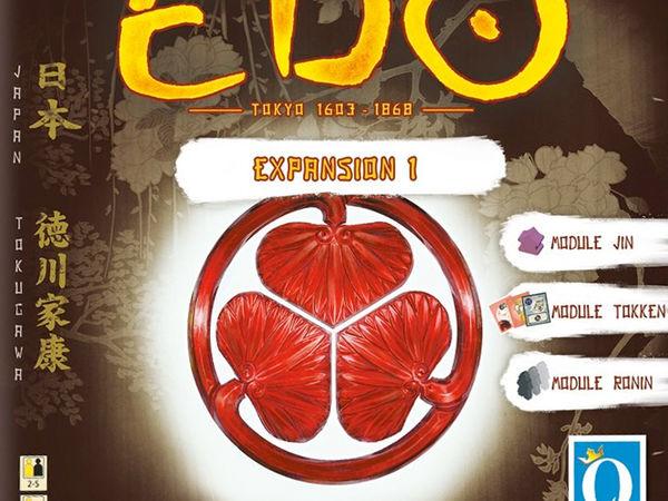 Bild zu Alle Brettspiele-Spiel Edo: Erweiterung 1