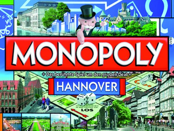 Bild zu Alle Brettspiele-Spiel Monopoly Hannover
