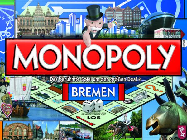 Bild zu Alle Brettspiele-Spiel Monopoly Bremen