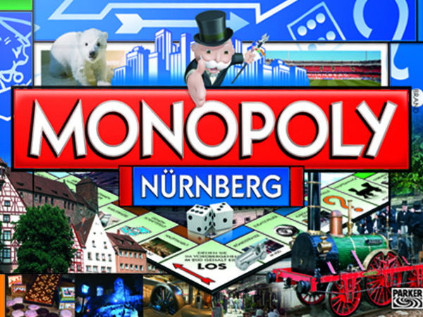 Bild zu Alle Brettspiele-Spiel Monopoly Nürnberg
