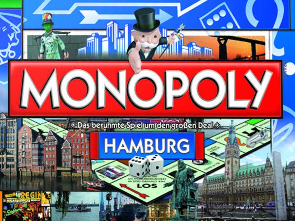 Bild zu Alle Brettspiele-Spiel Monopoly Hamburg