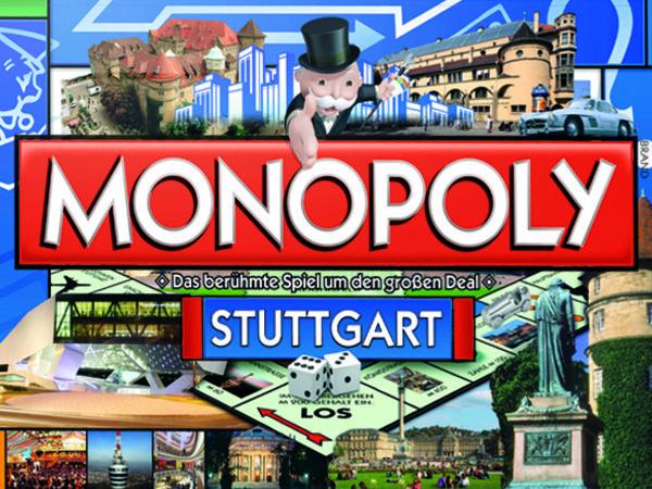 Bild zu Alle Brettspiele-Spiel Monopoly Stuttgart