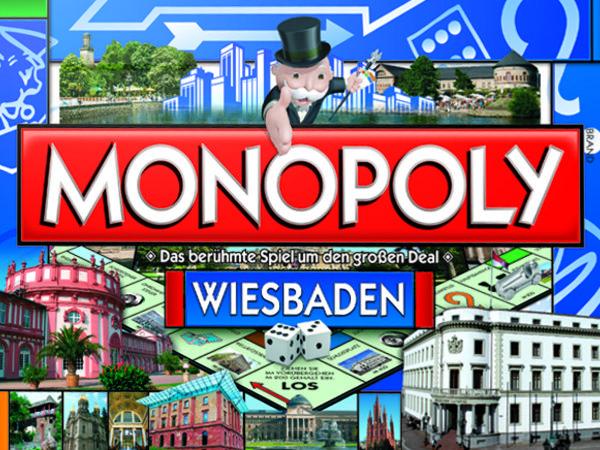 Bild zu Alle Brettspiele-Spiel Monopoly Wiesbaden