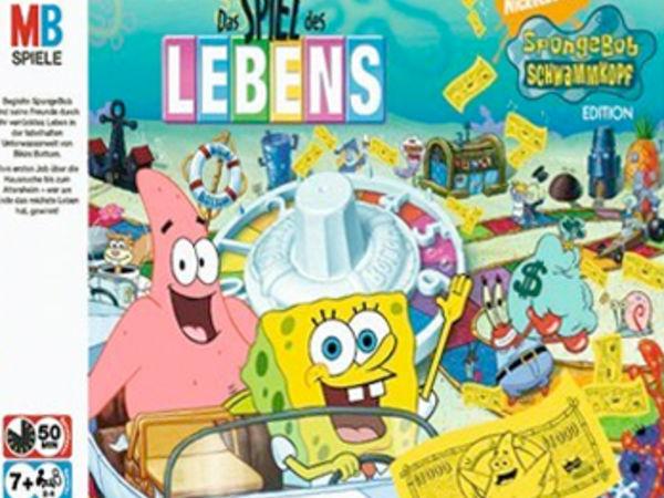 Bild zu Alle Brettspiele-Spiel Spiel des Lebens: Spongebob